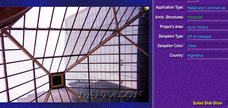 Luminatoare tip piramida, din placi de policarbonat COMPACT DANPALON - Poza 4