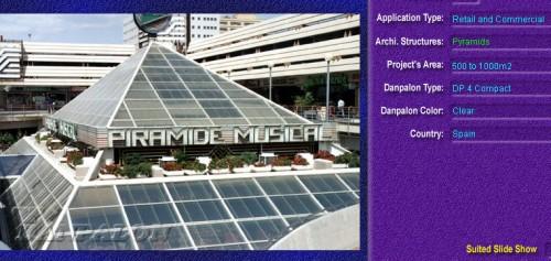 Luminatoare tip piramida, din placi de policarbonat COMPACT DANPALON - Poza 5