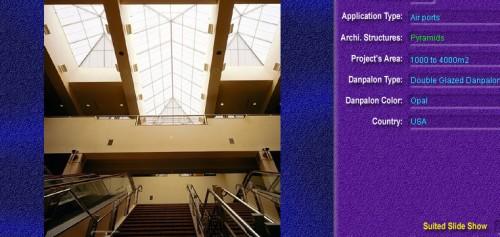 Luminatoare tip piramida, din placi de policarbonat DOUBLE GLAZURED DANPALON - Poza 2