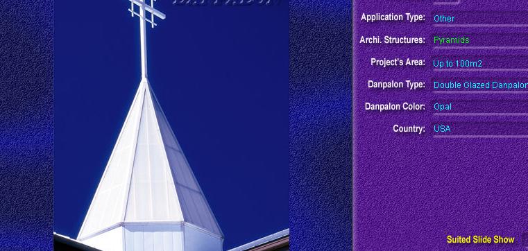 Luminatoare tip piramida, din placi de policarbonat DOUBLE GLAZURED DANPALON - Poza 3