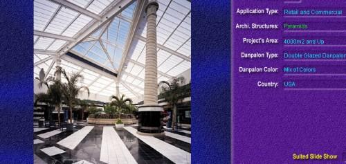 Luminatoare tip piramida, din placi de policarbonat DOUBLE GLAZURED DANPALON - Poza 4