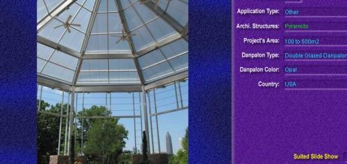 Luminatoare tip piramida, din placi de policarbonat DOUBLE GLAZURED DANPALON - Poza 7