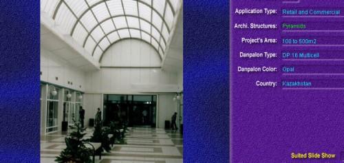 Luminatoare tip piramida, din placi de policarbonat MULTICELL DANPALON - Poza 3