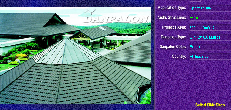 Luminatoare tip piramida, din placi de policarbonat MULTICELL DANPALON - Poza 7