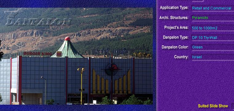 Luminatoare tip piramida, din placi de policarbonat TRY WALL DANPALON - Poza 2