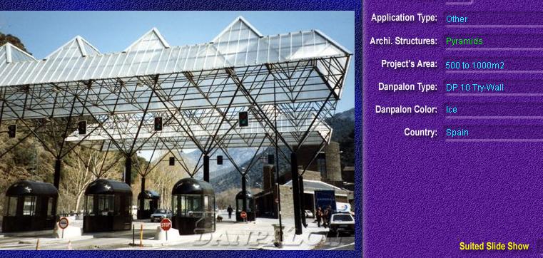 Luminatoare tip piramida, din placi de policarbonat TRY WALL DANPALON - Poza 4