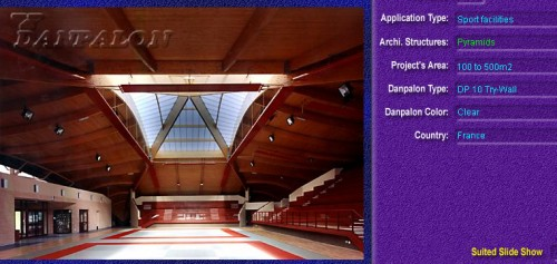Luminatoare tip piramida, din placi de policarbonat TRY WALL DANPALON - Poza 9
