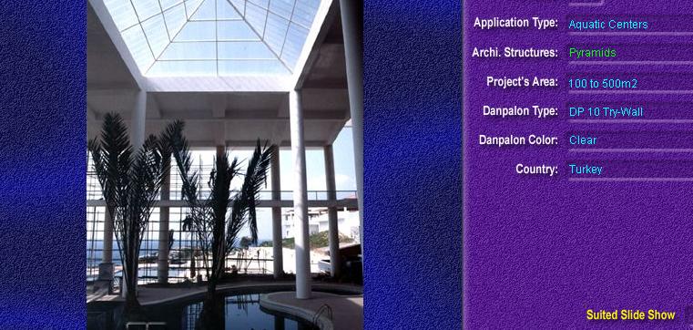 Luminatoare tip piramida, din placi de policarbonat TRY WALL DANPALON - Poza 13
