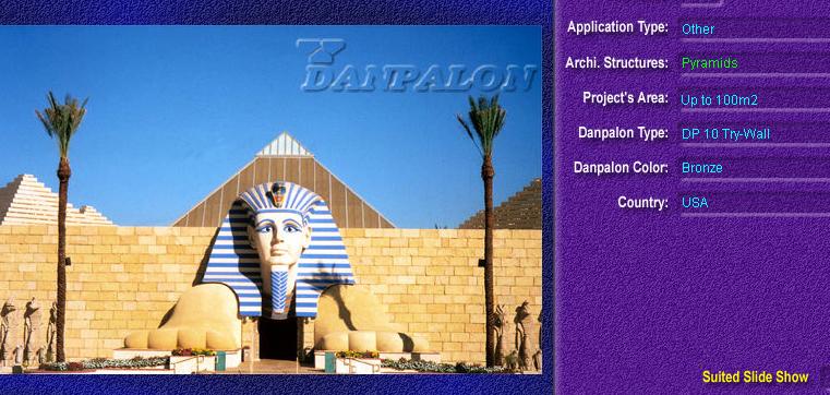 Luminatoare tip piramida, din placi de policarbonat TRY WALL DANPALON - Poza 17