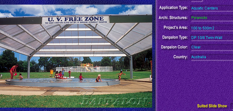 Luminatoare tip piramida, din placi de policarbonat TWIN WALL DANPALON - Poza 3