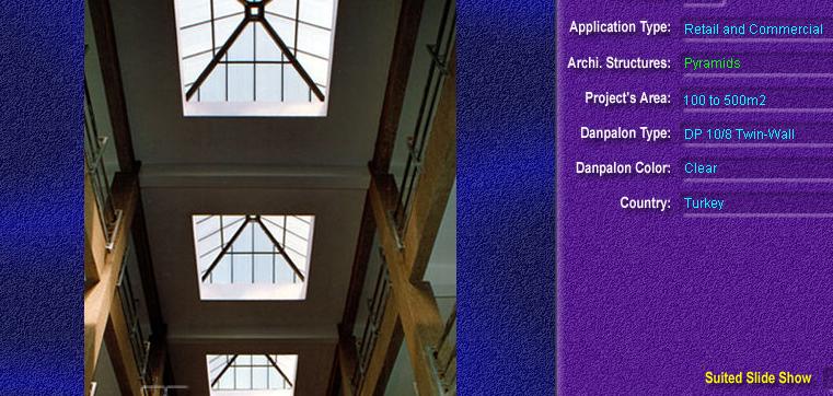 Luminatoare tip piramida, din placi de policarbonat TWIN WALL DANPALON - Poza 7