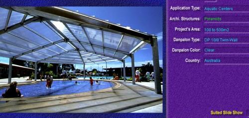 Luminatoare tip piramida, din placi de policarbonat TWIN WALL DANPALON - Poza 8