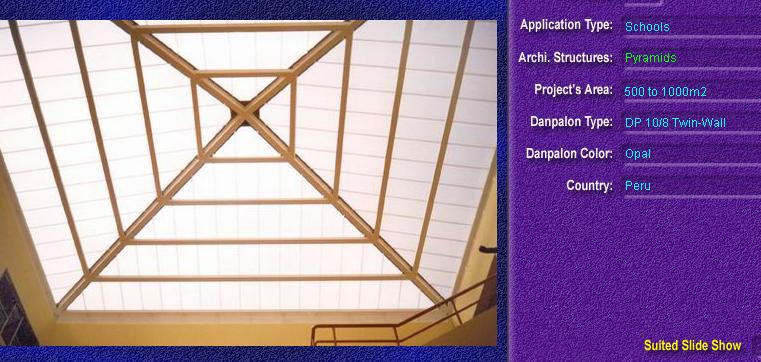 Luminatoare tip piramida, din placi de policarbonat TWIN WALL DANPALON - Poza 9