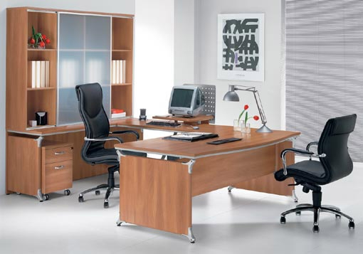 Mobilier pentru birouri executive DELLA VALENTINA OFFICE - Poza 5