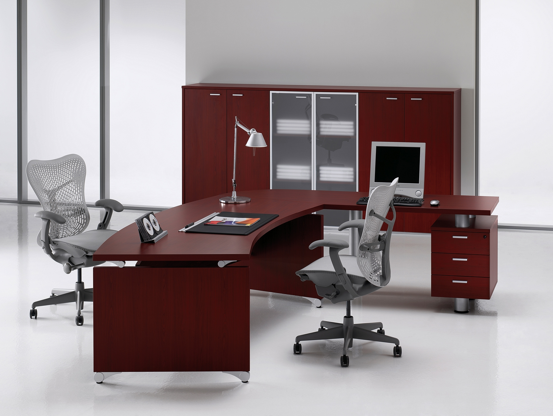 Mobilier pentru birouri executive DELLA VALENTINA OFFICE - Poza 11