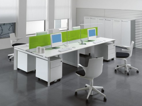 Exemple de utilizare Mobilier pentru birouri operative DELLA VALENTINA OFFICE - Poza 3