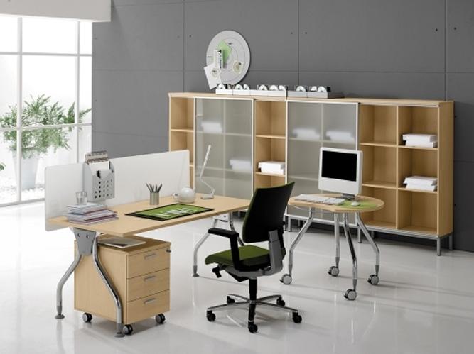 Mobilier pentru birouri operative DELLA VALENTINA OFFICE - Poza 6