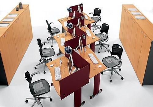 Exemple de utilizare Mobilier pentru birouri operative DELLA VALENTINA OFFICE - Poza 7