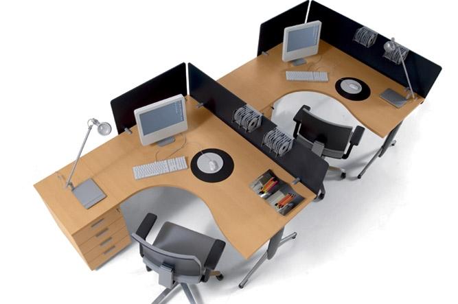Mobilier pentru birouri operative DELLA VALENTINA OFFICE - Poza 9