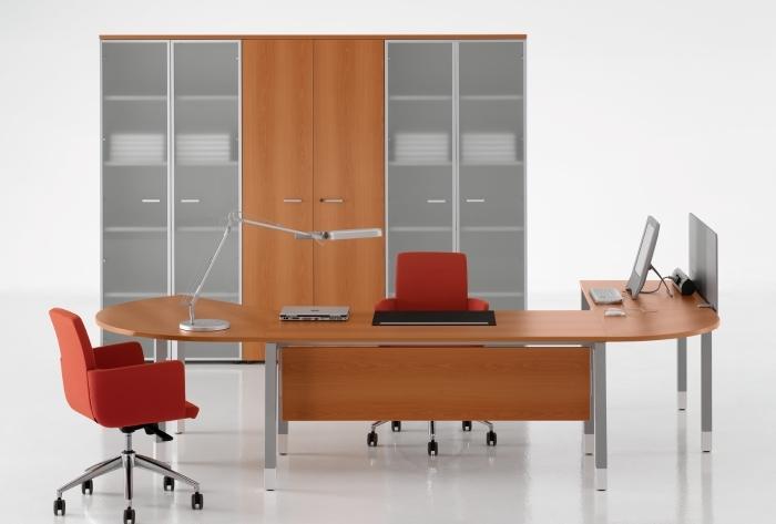 Mobilier pentru birouri operative DELLA VALENTINA OFFICE - Poza 10