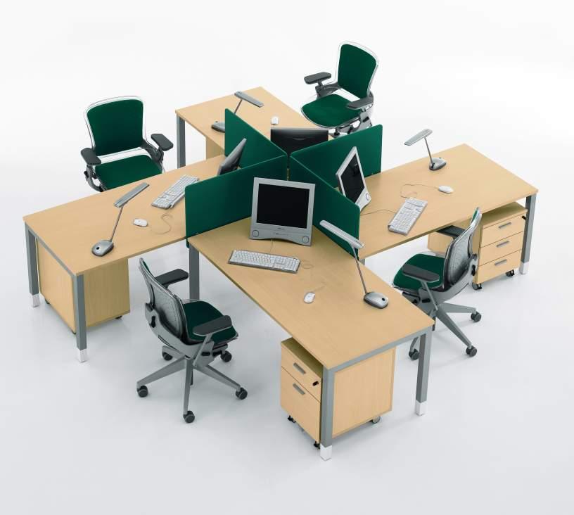 Mobilier pentru birouri operative DELLA VALENTINA OFFICE - Poza 15