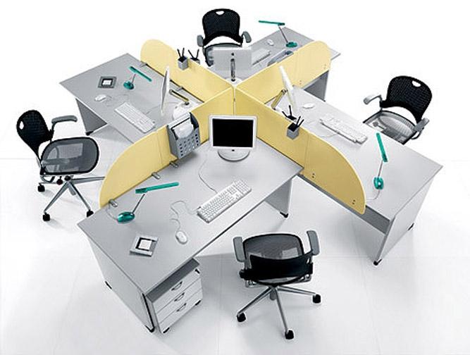 Mobilier pentru birouri operative DELLA VALENTINA OFFICE - Poza 16