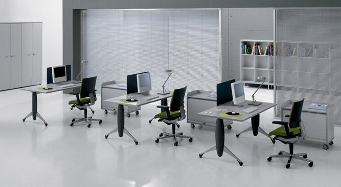 Mobilier pentru birouri operative DELLA VALENTINA OFFICE - Poza 19