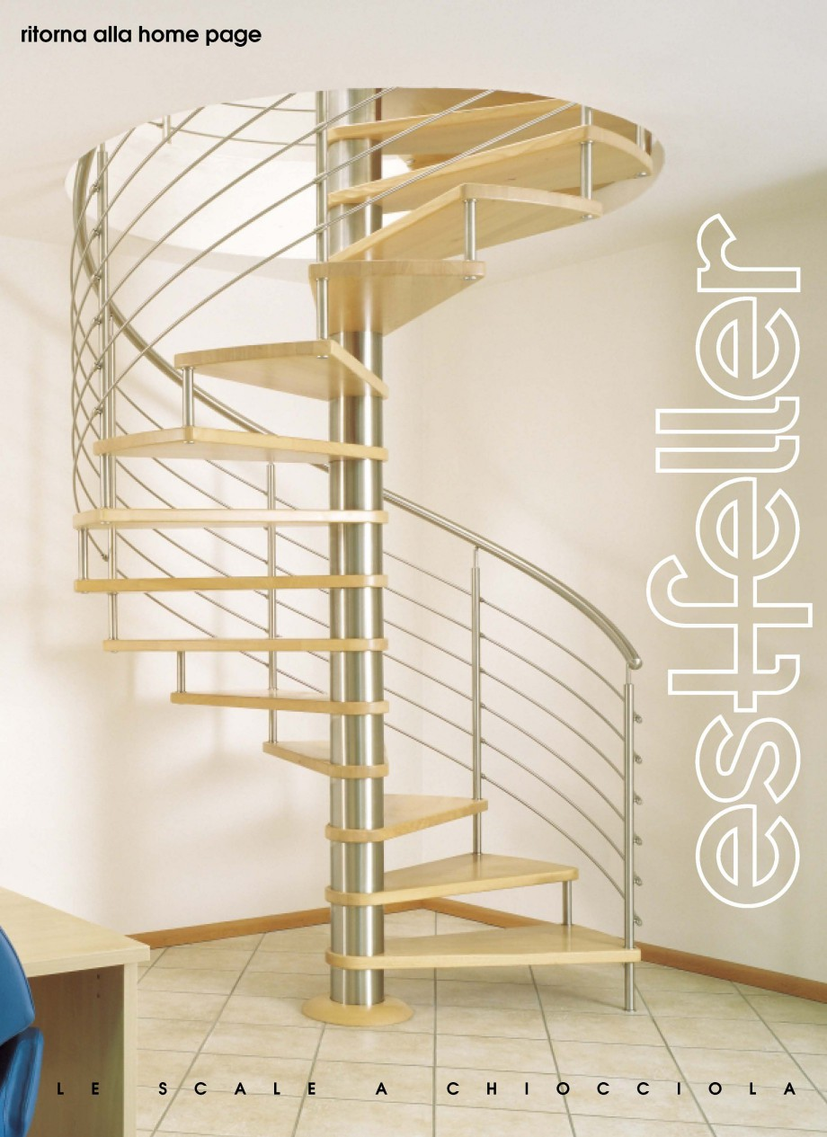 Pagina 1 - Catalog, brosura Scari interioare elicoidale din lemn TREND Spirala ESTFELLER Scari din...