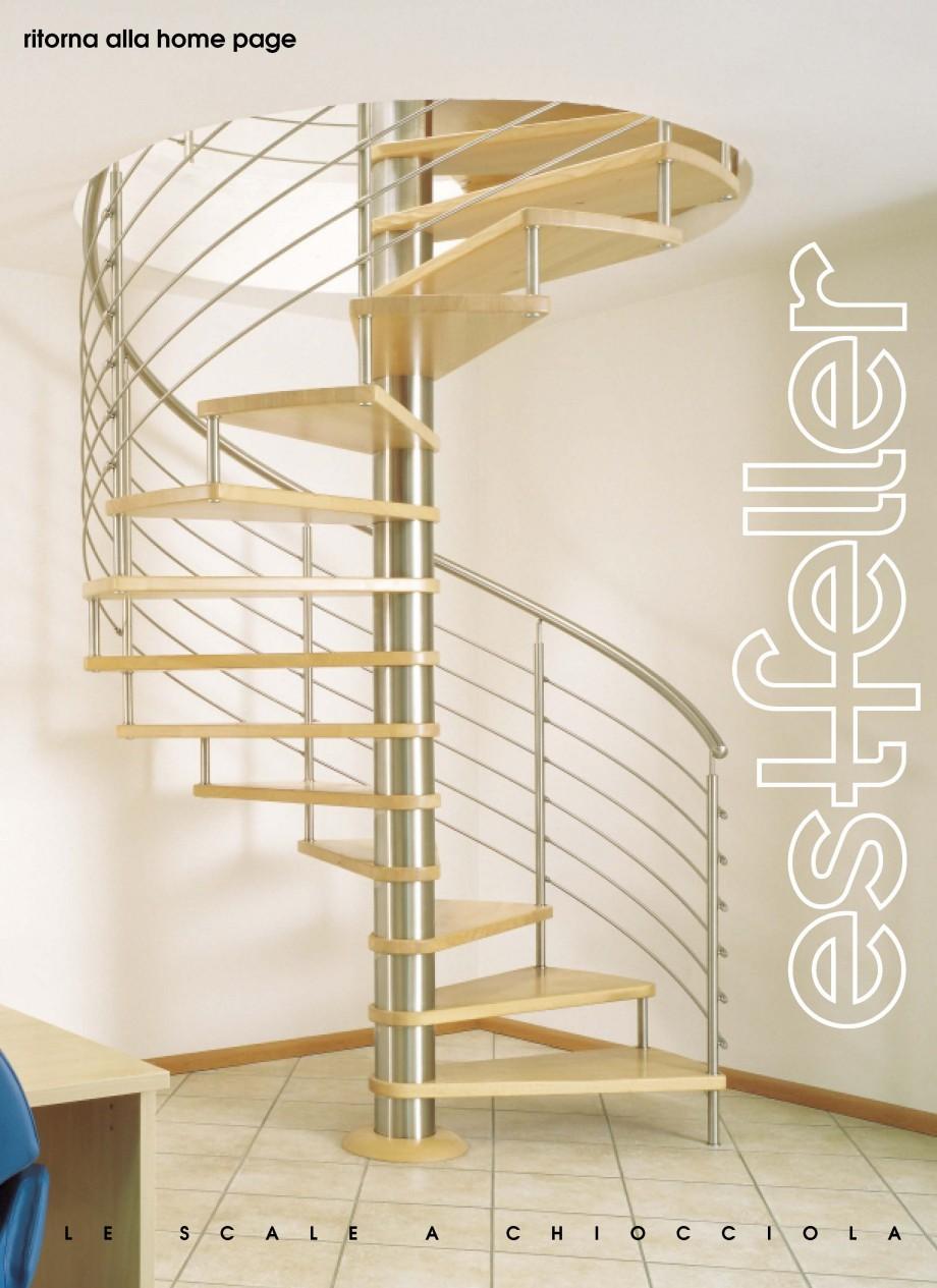 Pagina 1 - Scari interioare elicoidale din lemn ESTFELLER TREND Spirala Catalog, brosura Italiana La...