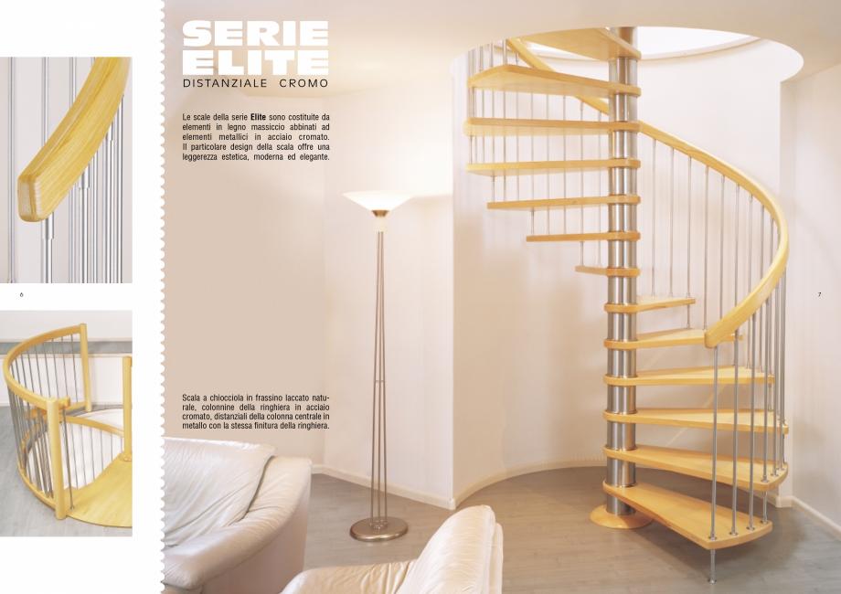 Pagina 4 - Scari interioare elicoidale din lemn ESTFELLER TREND Spirala Catalog, brosura Italiana...