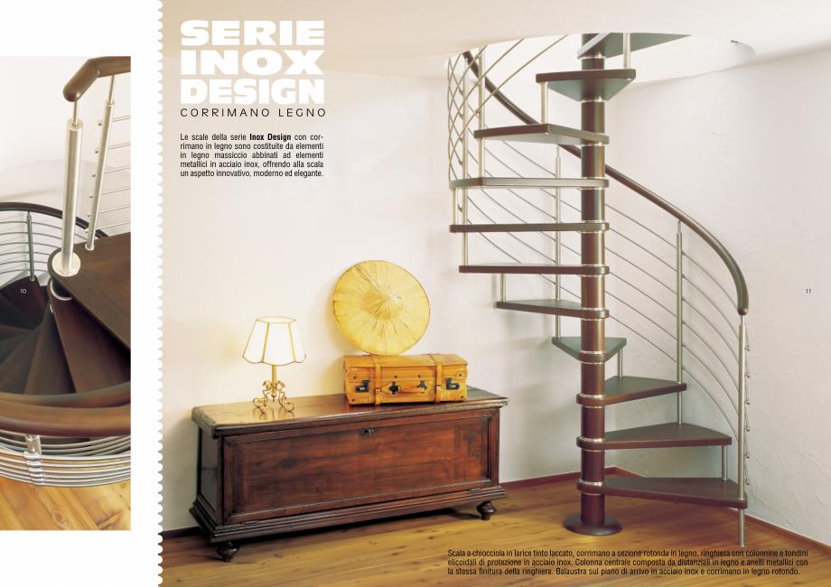 Pagina 6 - Scari interioare elicoidale din lemn ESTFELLER TREND Spirala Catalog, brosura Italiana...