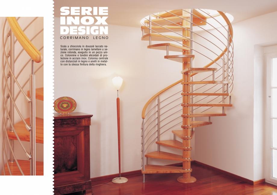 Pagina 7 - Scari interioare elicoidale din lemn ESTFELLER TREND Spirala Catalog, brosura Italiana...