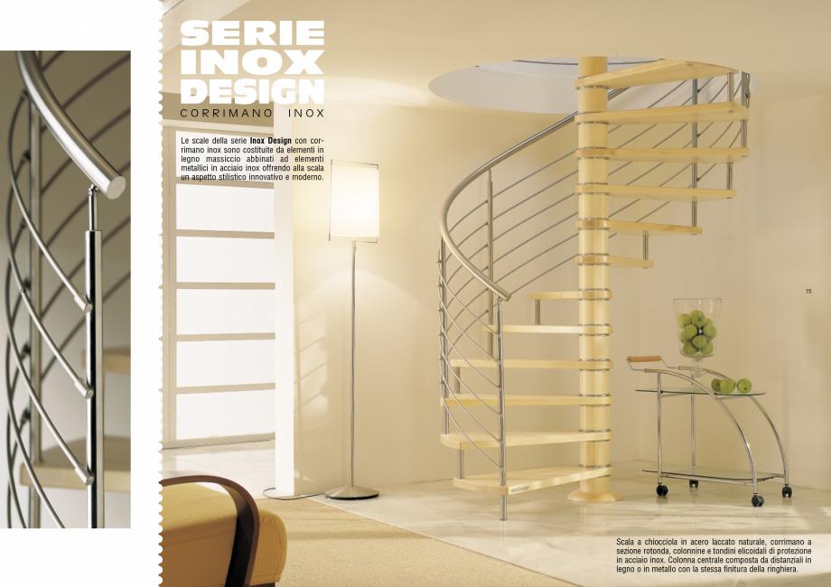 Pagina 8 - Scari interioare elicoidale din lemn ESTFELLER TREND Spirala Catalog, brosura Italiana...