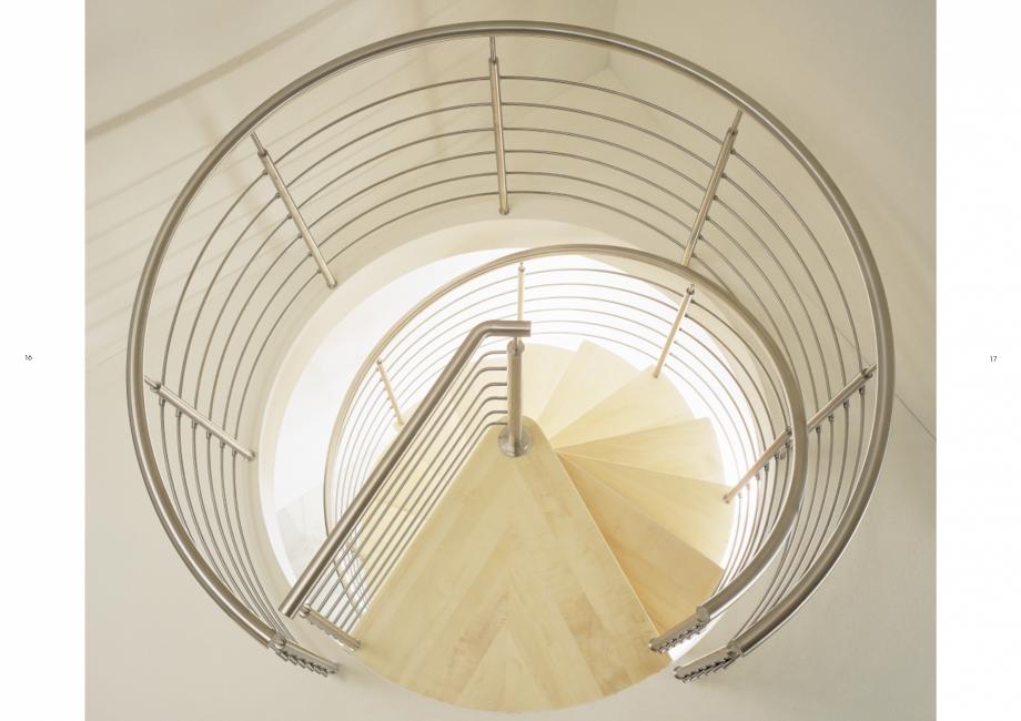 Pagina 9 - Catalog, brosura Scari interioare elicoidale din lemn TREND Spirala ESTFELLER Scari din...