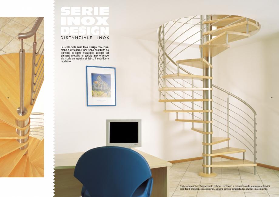 Pagina 10 - Scari interioare elicoidale din lemn ESTFELLER TREND Spirala Catalog, brosura Italiana...