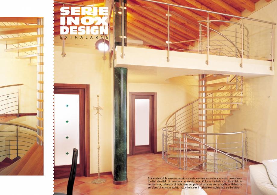 Pagina 11 - Scari interioare elicoidale din lemn ESTFELLER TREND Spirala Catalog, brosura Italiana