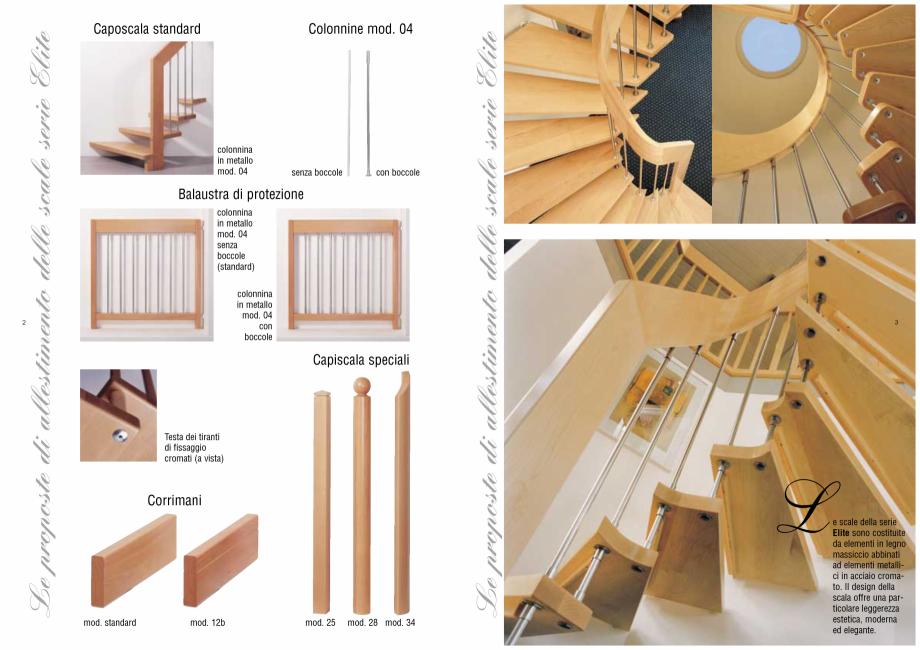 Pagina 2 - Catalog, brosura Scari interioare ELITE ESTFELLER Scari din lemn pentru interior si...