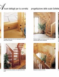 Scari interioare din lemn balansate - detalii de proiectare corecta