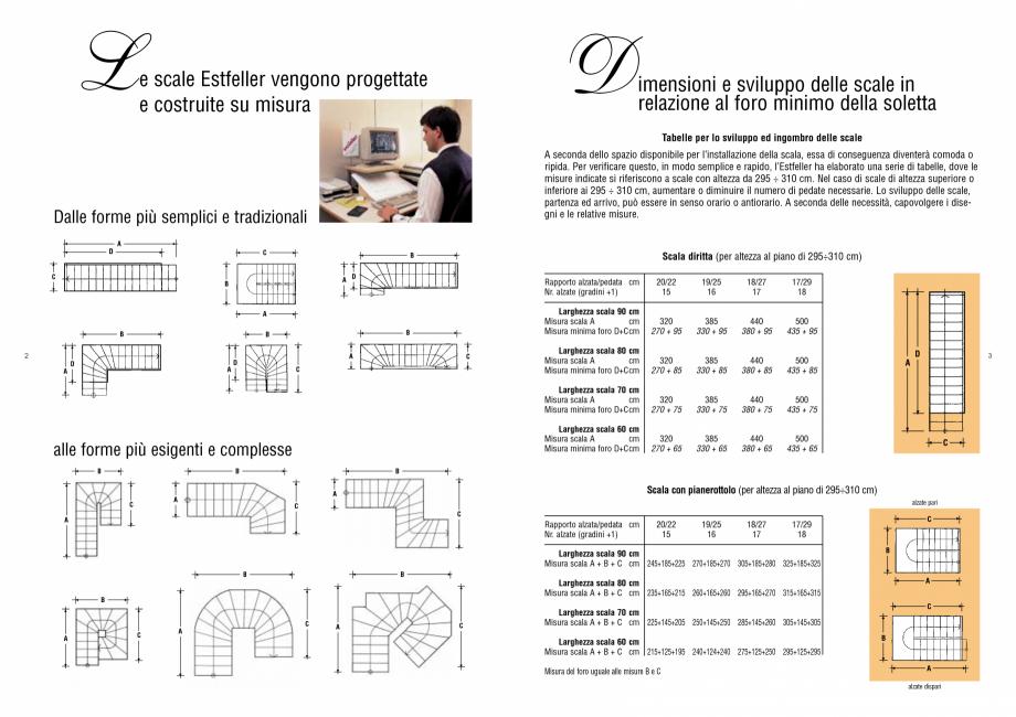 Pagina 1 - Scari interioare din lemn drepte si balansate sau spirale - dimensiuni de proiectare...