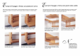 Scari interioare din lemn drepte si balansate - racordare la planseul de sosire ESTFELLER