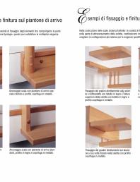 Scari interioare din lemn drepte si balansate - racordare la planseul de sosire