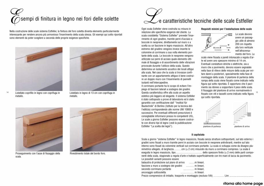 Pagina 2 - Scari interioare din lemn drepte si balansate - racordare la planseul de sosire ESTFELLER...
