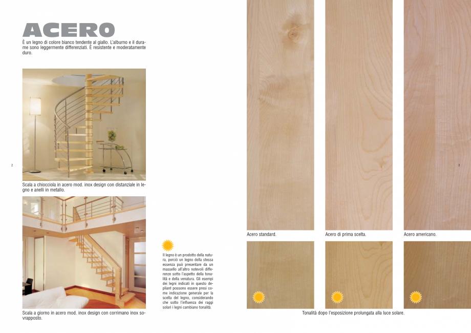 Pagina 2 - Tonalitati lemn pentru scari interioare ESTFELLER PRESTIGE, INVENT LIGHT, INVENT, INOX...