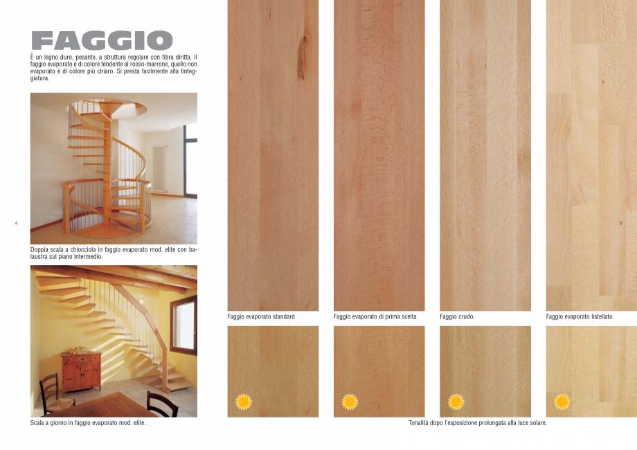 Pagina 3 - Tonalitati lemn pentru scari interioare ESTFELLER PRESTIGE, INVENT LIGHT, INVENT, INOX...