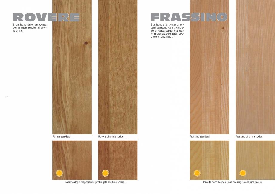 Pagina 4 - Tonalitati lemn pentru scari interioare ESTFELLER PRESTIGE, INVENT LIGHT, INVENT, INOX...