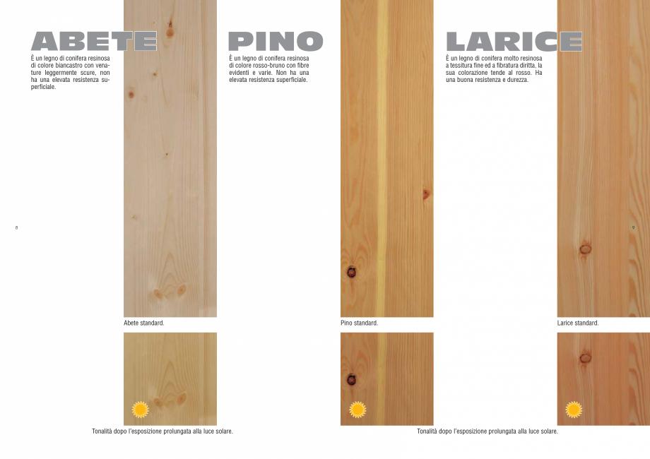 Pagina 5 - Tonalitati lemn pentru scari interioare ESTFELLER PRESTIGE, INVENT LIGHT, INVENT, INOX...