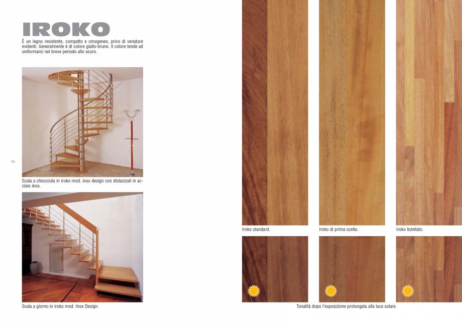 Pagina 6 - Tonalitati lemn pentru scari interioare ESTFELLER PRESTIGE, INVENT LIGHT, INVENT, INOX...