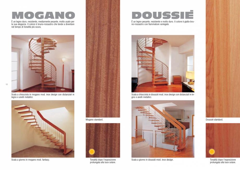 Pagina 7 - Tonalitati lemn pentru scari interioare ESTFELLER PRESTIGE, INVENT LIGHT, INVENT, INOX...