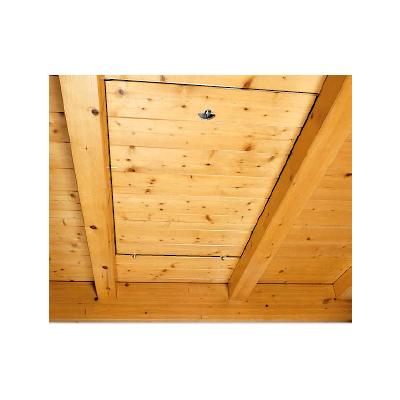 Capacul scarii - lemn ALLUMIN Scari retractabile metalice