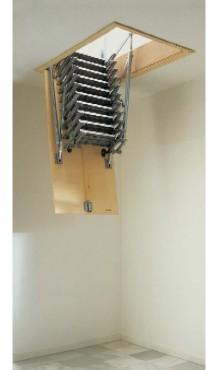 Exemple de utilizare Scari retractabile metalice GEOCOM TRADING&CONSULTING - Poza 5
